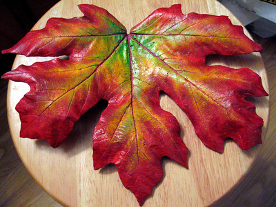 Maple leaf - finished